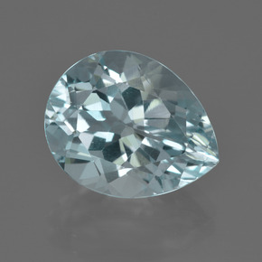 Light Blue Aquamarine Gem - 7.5ct Pear Facet (ID: 412431)
