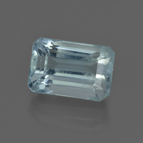 5.2ct Octagon Facet Sky Blue Aquamarine Gem (ID: 412444)