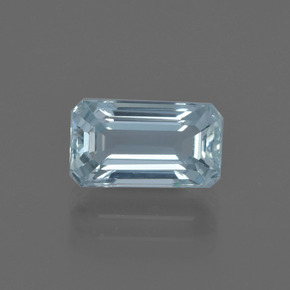 1.8ct Octagon Facet Sky Blue Aquamarine Gem (ID: 412490)