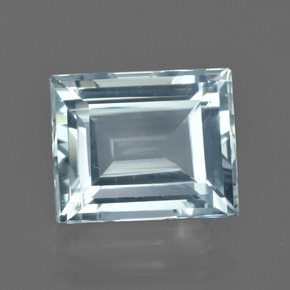 7.2ct Baguette Facet Sky Blue Aquamarine Gem (ID: 415531)