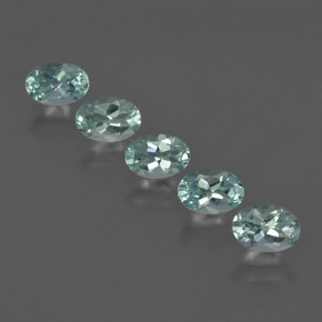Buy 2.45 ct Light Green Blue Aquamarine 6.06 mm x 4.2 mm from GemSelect (Product ID: 418805)