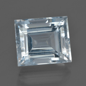 9.7ct Baguette Facet Sky Blue Aquamarine Gem (ID: 419679)