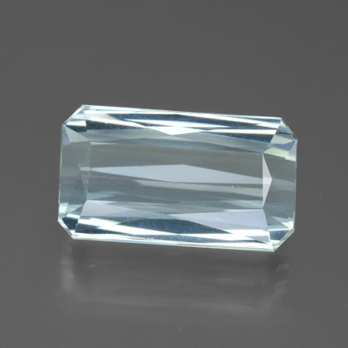 Light Blue Aquamarine Gem - 11.9ct Octagon / Scissor Cut (ID: 450371)