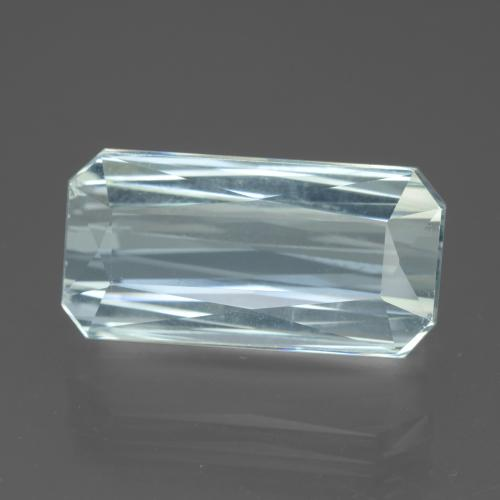 thumb image of 13.5ct Octagon / Scissor Cut Light Blue Aquamarine (ID: 450374)