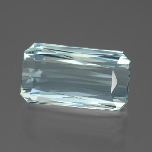 Light Blue Aquamarine Gem - 13.8ct Octagon / Scissor Cut (ID: 450375)