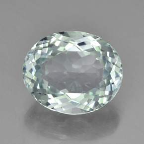 Green Aquamarine 3 4ct Oval From Madagascar Natural And