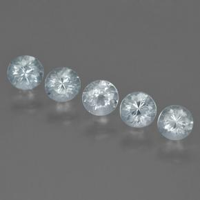 thumb image of 0.3ct Round Facet Light Blue Aquamarine (ID: 464867)
