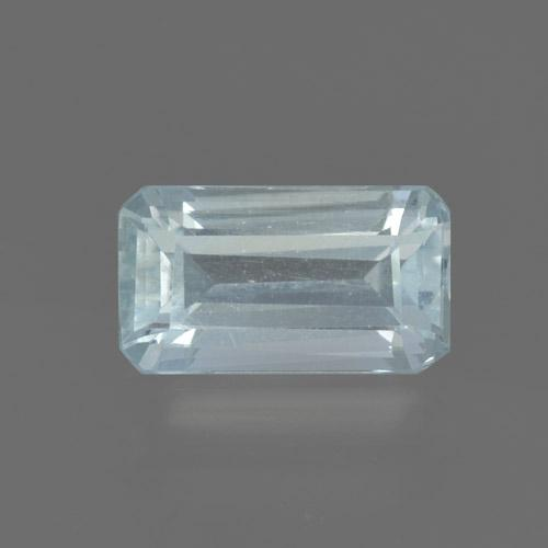 Light Blue Aquamarine Gem - 0.9ct Octagon Step Cut (ID: 465717)