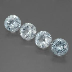 thumb image of 0.7ct Round Facet Light Blue Aquamarine (ID: 466015)