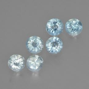 thumb image of 0.3ct Round Facet Light Blue Aquamarine (ID: 466082)