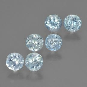 thumb image of 0.3ct Round Facet Light Blue Aquamarine (ID: 466084)