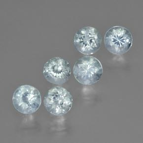 thumb image of 0.4ct Round Facet Light Blue Aquamarine (ID: 466087)