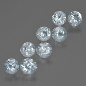 thumb image of 0.4ct Round Facet Light Blue Aquamarine (ID: 466096)