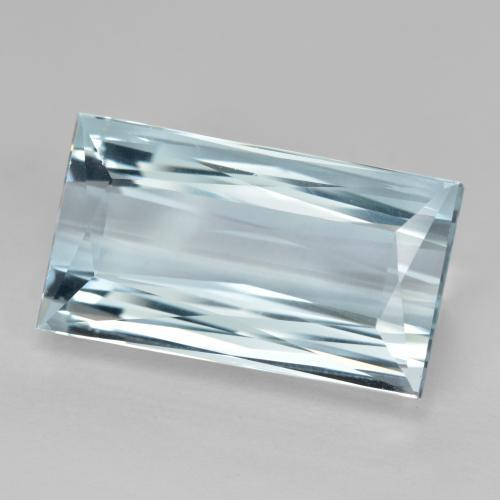 Light Blue Aquamarine Gem - 10.6ct Baguette / Scissor Cut (ID: 467812)