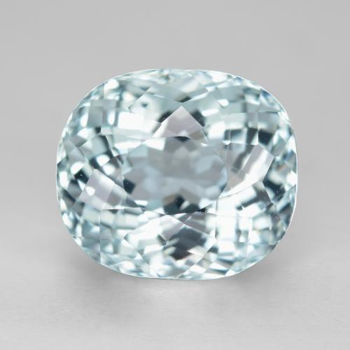 Light Blue Aquamarine Gem - 6.6ct Oval Portuguese-Cut (ID: 486958)