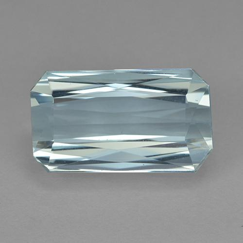 Light Blue Aquamarine Gem - 9.7ct Octagon / Scissor Cut (ID: 503396)