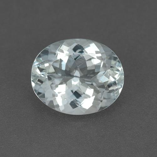 Light Blue Aquamarine Gem - 2.8ct Oval Facet (ID: 509751)