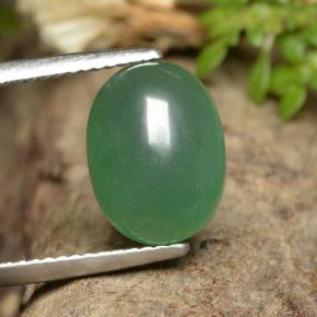 thumb image of 4.9ct Oval Cabochon Green Aventurine (ID: 496875)