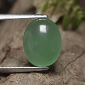 thumb image of 2.3ct Oval Cabochon Green Aventurine (ID: 496889)