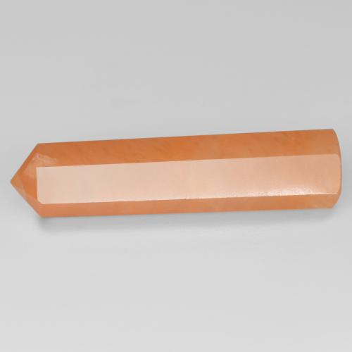 Cantaloupe Orange افينتورين حجر كريم - 19.9ct Pencil Cut (ID: 537735)