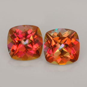 Buy 5.22 ct Multicolor Azotic Topaz 8.11 mm x 8.1 mm from GemSelect (Product ID: 244689)