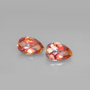 Buy 3.17 ct Top Rainbow Azotic Topaz 9.04 mm x 5.9 mm from GemSelect (Product ID: 293938)