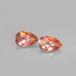 Buy 3.29 ct Top Rainbow Azotic Topaz 9.06 mm x 6.1 mm from GemSelect (Product ID: 293940)