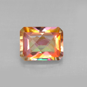 Buy 2.80 ct Top Rainbow Azotic Topaz 8.99 mm x 7 mm from GemSelect (Product ID: 293957)