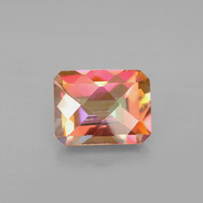 Buy 2.56 ct Top Rainbow Azotic Topaz 8.90 mm x 6.9 mm from GemSelect (Product ID: 293981)