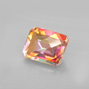 Buy 2.76 ct Top Rainbow Azotic Topaz 8.91 mm x 7 mm from GemSelect (Product ID: 294260)