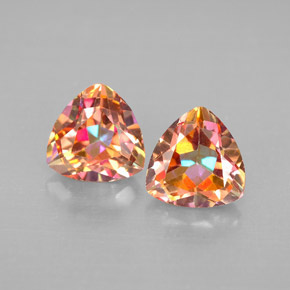 Buy 2.66 ct Top Rainbow Azotic Topaz 7.11 mm x 6.9 mm from GemSelect (Product ID: 296382)