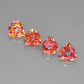 Buy 6.14 ct Top Rainbow Azotic Topaz 7.11 mm x 7.1 mm from GemSelect (Product ID: 296401)