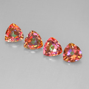 Buy 5.46 ct Top Rainbow Azotic Topaz 7.07 mm x 7 mm from GemSelect (Product ID: 296405)