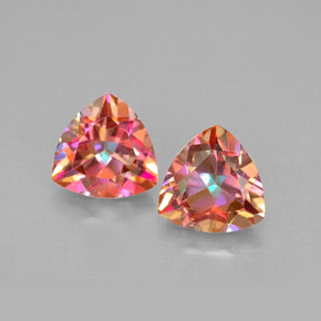 Buy 2.83ct Top Rainbow Azotic Topaz 7.08mm x 7.03mm from GemSelect (Product ID: 296461)