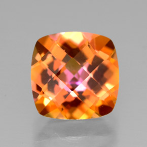 Buy 3.00 ct Top Rainbow Azotic Topaz 8.00 mm x 8 mm from GemSelect (Product ID: 305645)