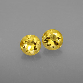 Buy 1.18 ct Yellow Golden Beryl 5.55 mm  from GemSelect (Product ID: 291945)