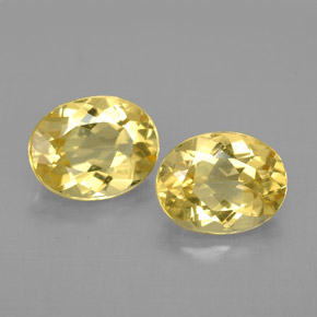 Buy 3.20 ct Yellow Golden Beryl 8.88 mm x 6.9 mm from GemSelect (Product ID: 295783)
