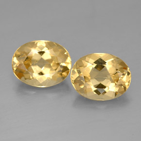 3.19 ct total Natural Yellow Golden Beryl