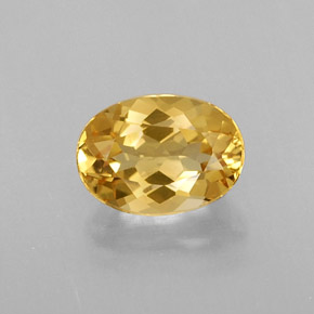 Buy 0.79 ct Yellow Golden Beryl 7.07 mm x 5.1 mm from GemSelect (Product ID: 313997)