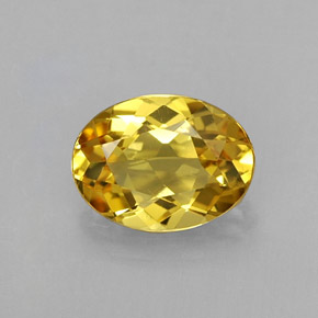 Buy 0.96 ct Yellow Golden Beryl 7.94 mm x 5.9 mm from GemSelect (Product ID: 314002)