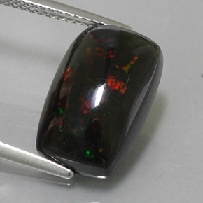 Buy 4.89 ct Multicolor Black Opal 15.22 mm x 9.7 mm from GemSelect (Product ID: 324529)
