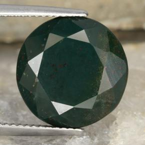 11 25 ct Dark Green Bloodstone
