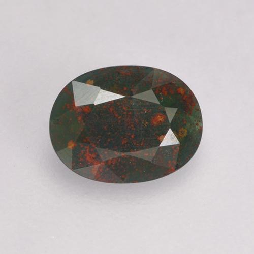 0 31 ct Spotted Green Bloodstone