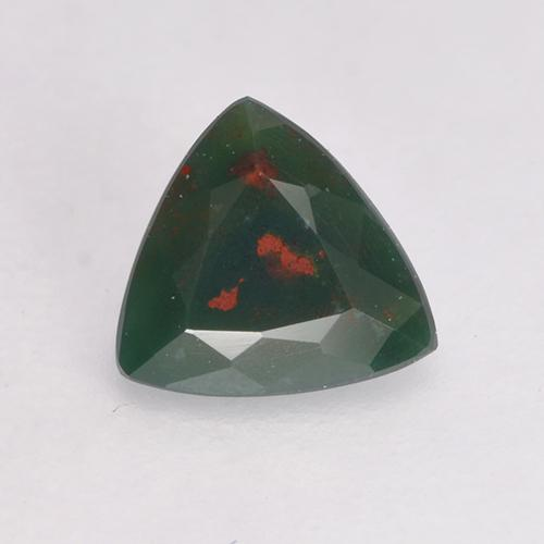 0 37 ct Multicolor Green Bloodstone