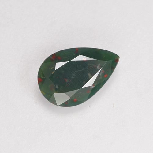 0 56 ct Deep Green Bloodstone