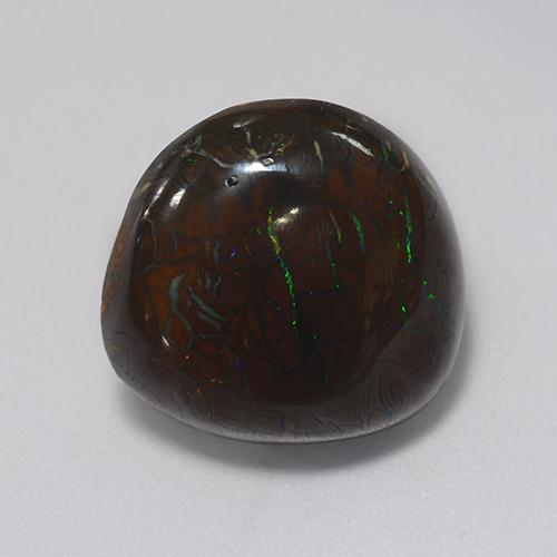 Multicolor Boulder Opal Gem - 13.2ct Fancy Cabochon (ID: 365224)