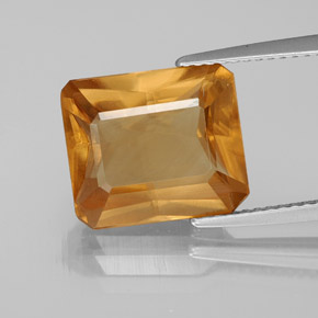 6.38 ct Natural Orange Calcite