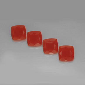 Buy 14.57 ct Red Orange Carnelian 10.07 mm x 10 mm from GemSelect (Product ID: 268057)