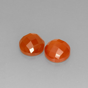 Buy 3.60 ct Orange Carnelian 8.02 mm  from GemSelect (Product ID: 273602)