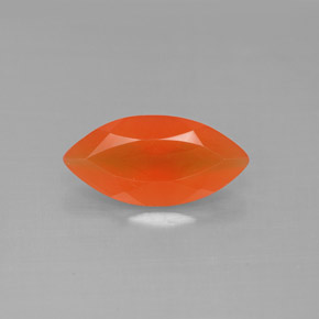 Buy 1.35 ct Red Orange Carnelian 12.02 mm x 5.9 mm from GemSelect (Product ID: 291288)